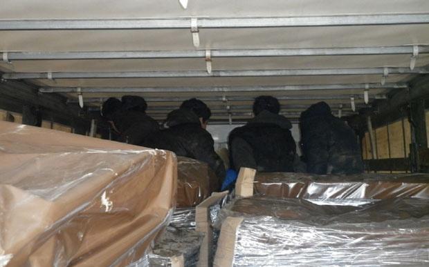 Grčka: Zaustavljen kamion sa 59 migranata