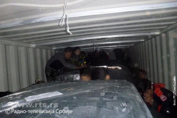 Kelebija, pronađeno 27 migranata u vagonu