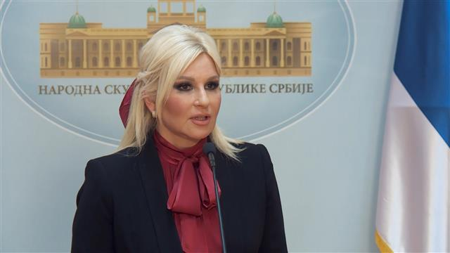 Mihajlović: Na laži sam morala da odgovorim, nasilje nisam očekiva