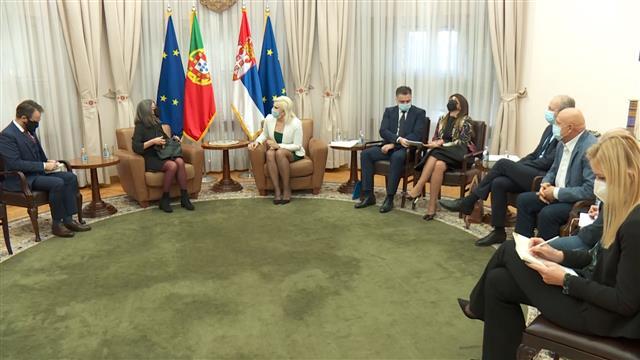 Mihajlović i ambasadorka Portugalije o saradnji u energetici
