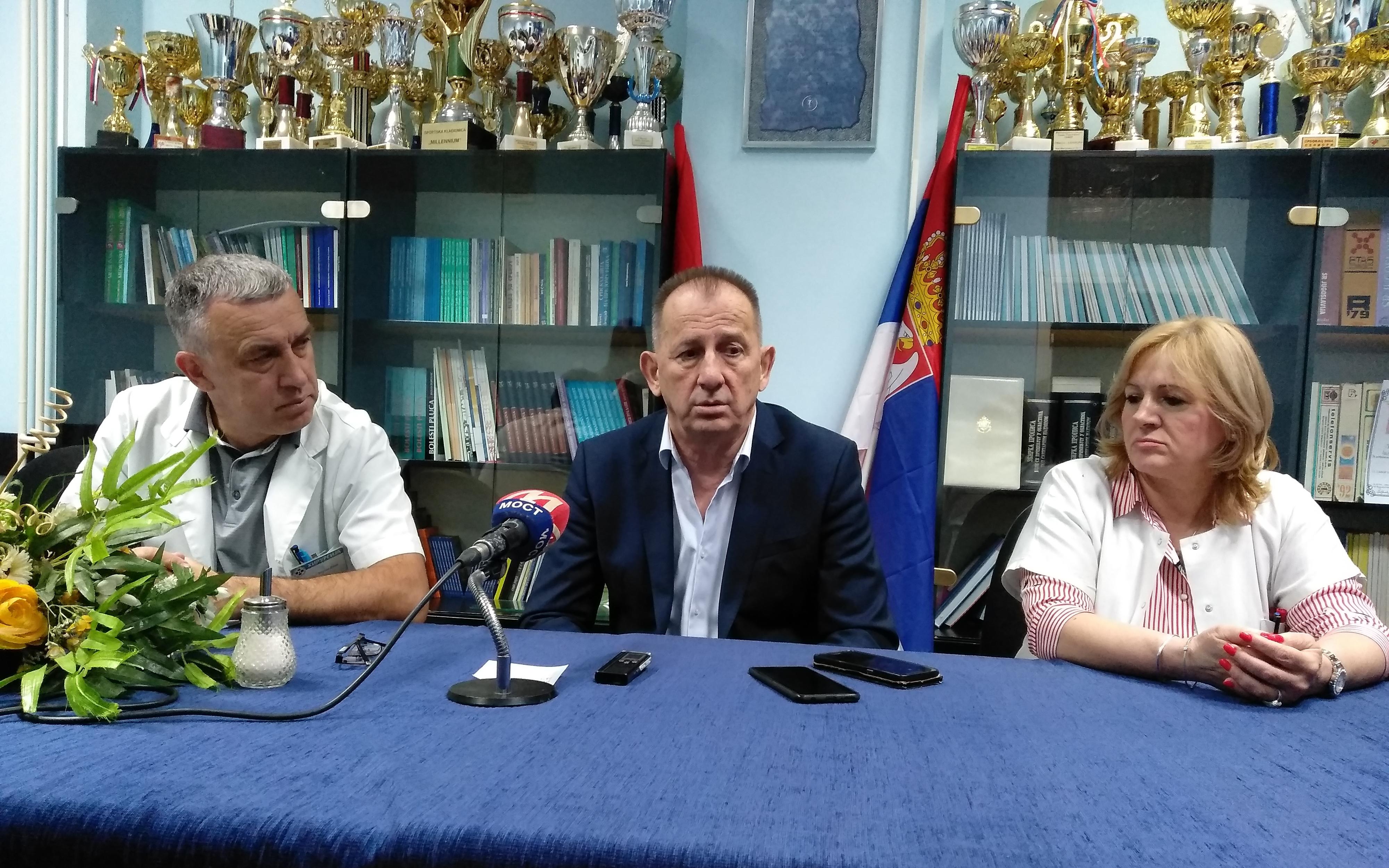 Ivanović: Zabranom ulaksa lekarima na Kosovo onemogućeno lečenje pacijenata