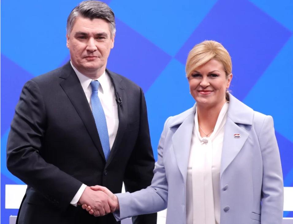 Hrvatska sutra bira između Milanovića i Grabar Kitarović