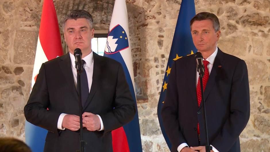 Milanović i Pahor:Pomoći ćemo prijateljima sa Zapadnog Balkana da uđu u EU
