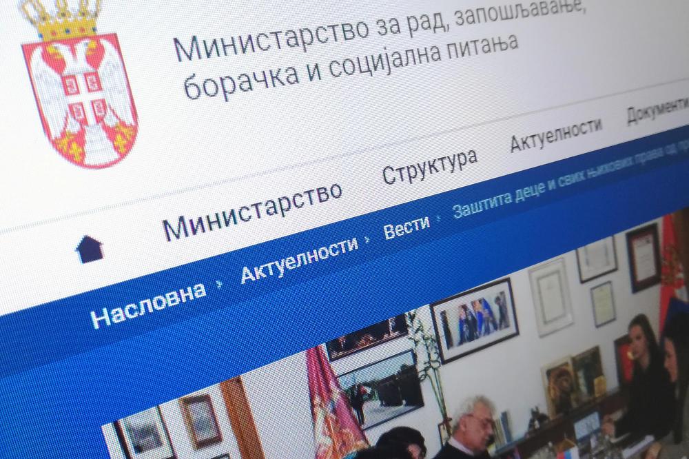 Ministarstvo za rad: Lakše do informacija o pravima na Kosovu i Metohiji