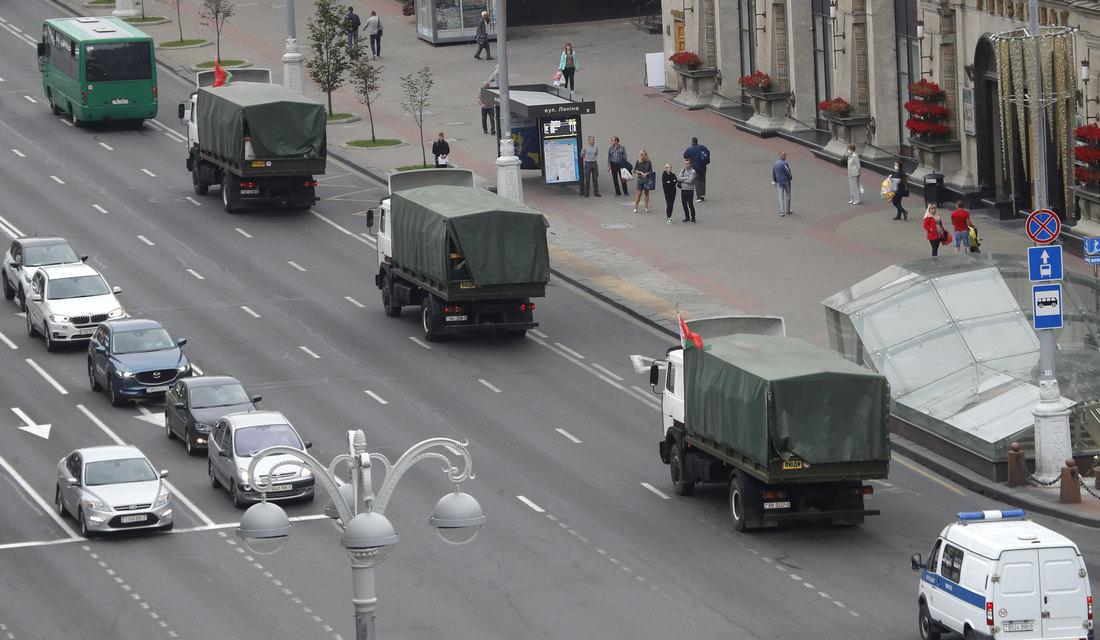 Policija pooštrava mere bezbednosti u Minsku