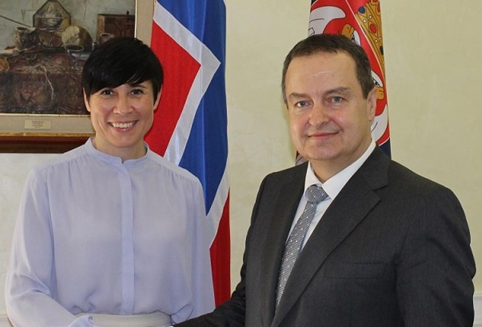 Dačić i Soreide o unapređenju ekonomske saradnje