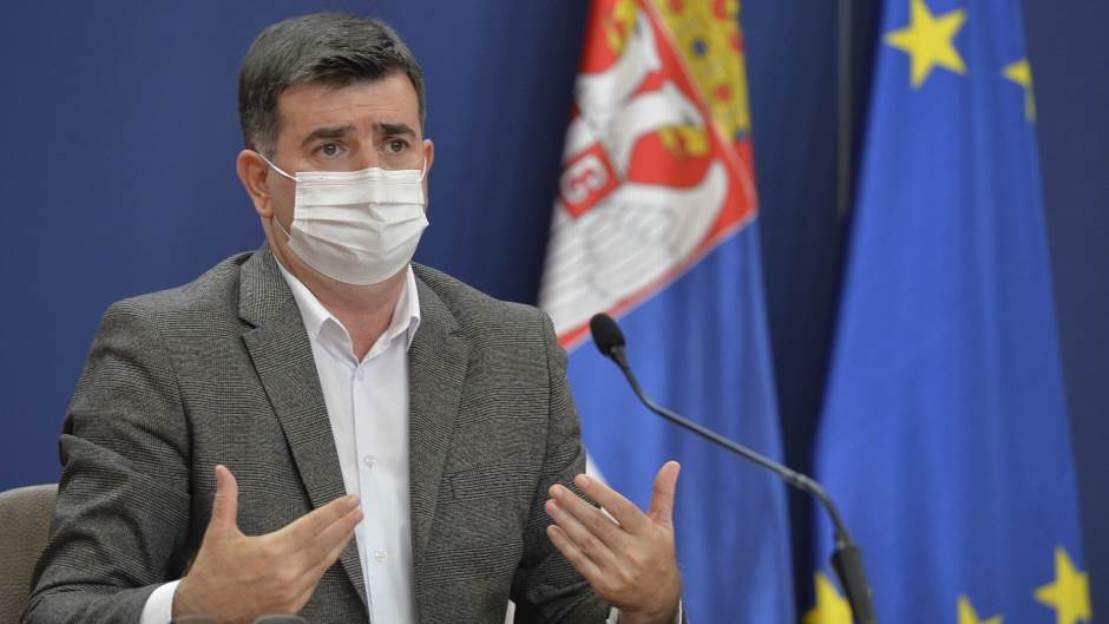 Đerlek: Cilj više od 50 odsto vakcinisanih u junu
