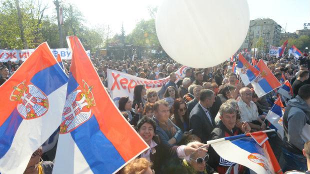 Vesić: Održan najveći skup u modernoj političkoj istoriji Srbije