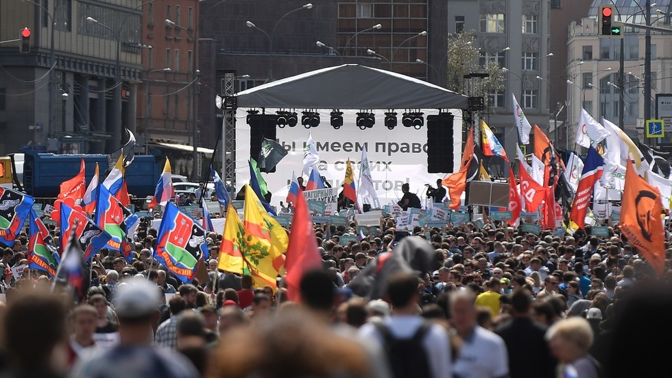 Protest u Moskvi zbog zabrane kandidovanja opozicionih predstavnika
