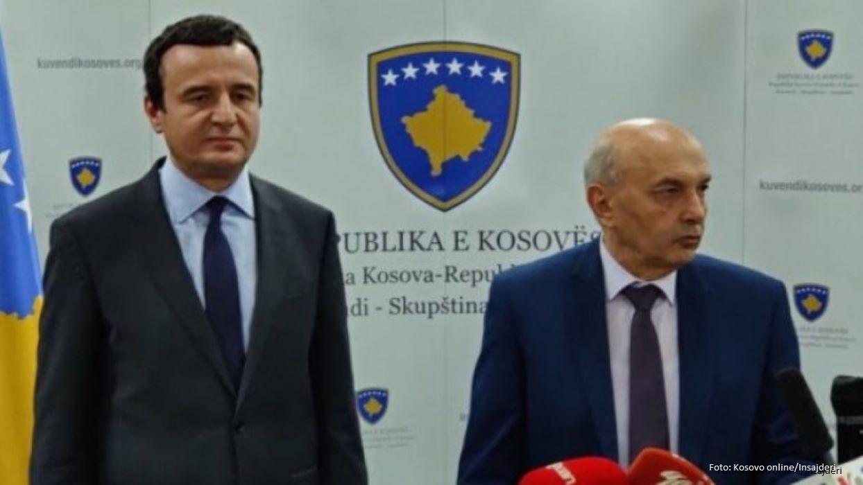 Kurti i Mustafa odrzali sastanak,mediji uskraćeni za izjave