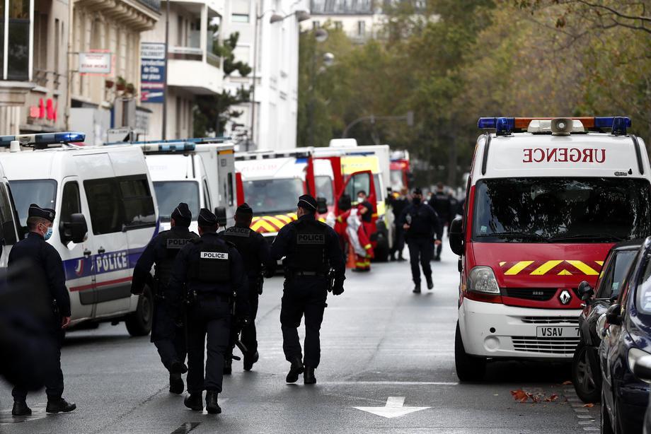 Napad nožem ispred crkve u Nici, tri osobe ubijene