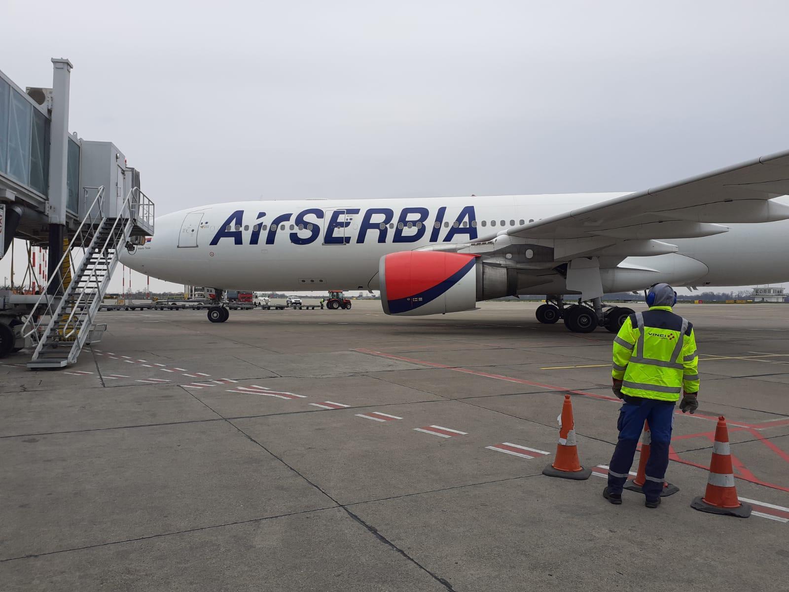 Sleteo avion sa srpskim državljanima iz Vašingtona