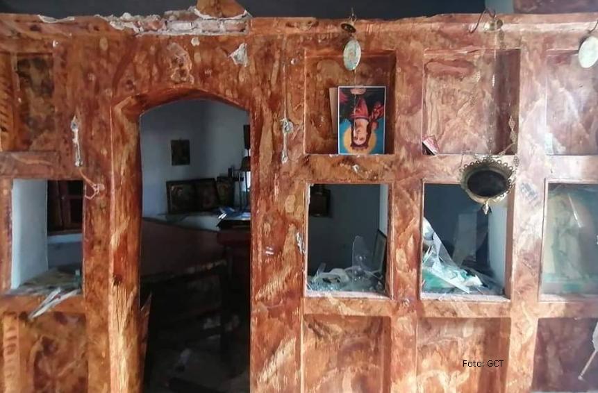 Migranti demolirali pravoslavne crkve na Lezbosu
