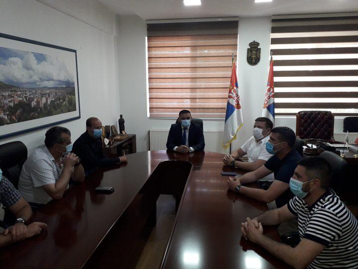 Spirić sa rukovodstvom Sportskog saveza Srbije