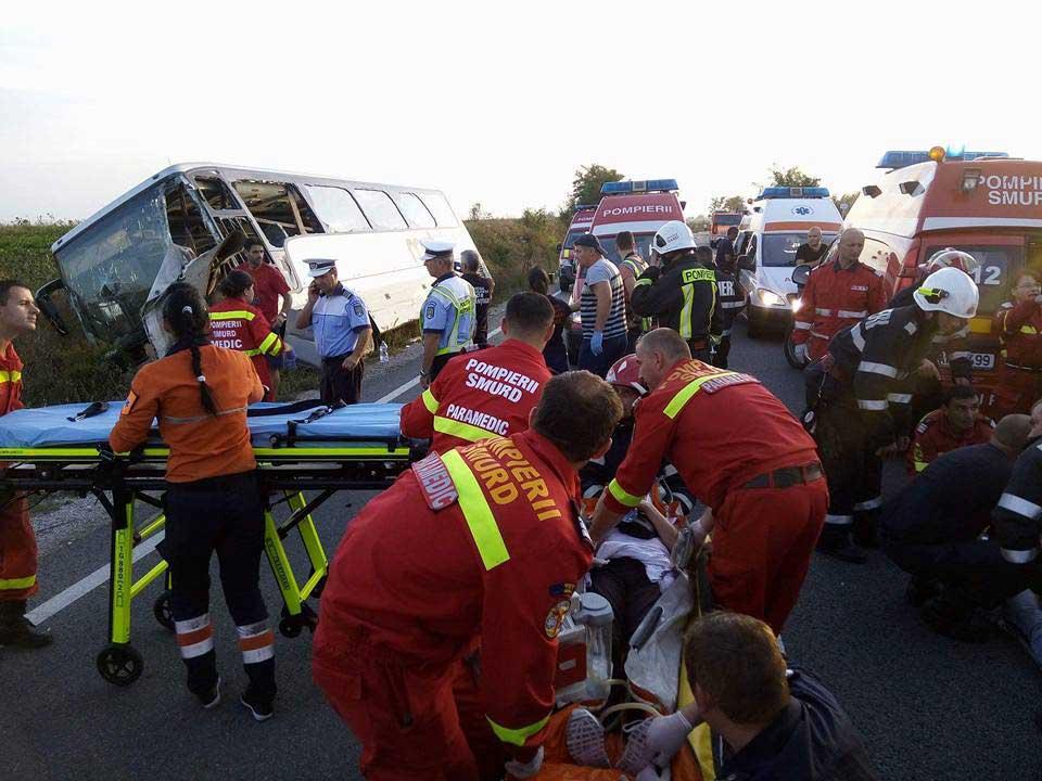Teška nesreća u Rumuniji, 10 poginulih