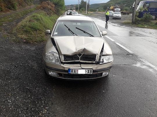"""Saobraćajna nesreća kod benzinske stanice """"Gradina"""""""