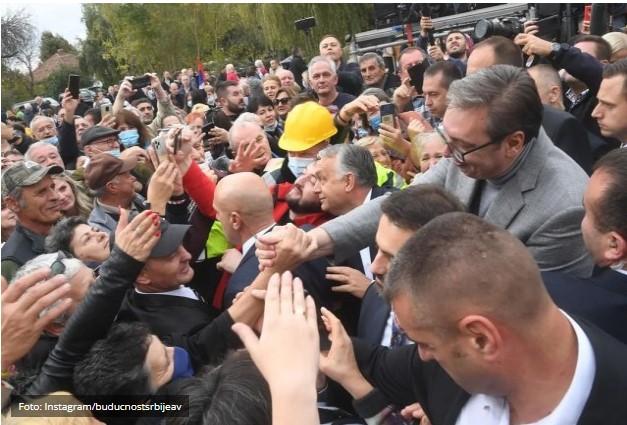 Vučić zahvalio Orbanu na podrši Srbiji na putu ka EU