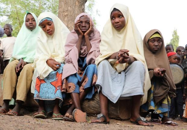 Oslobođene nigerijske devojčice otete iz školskog internata