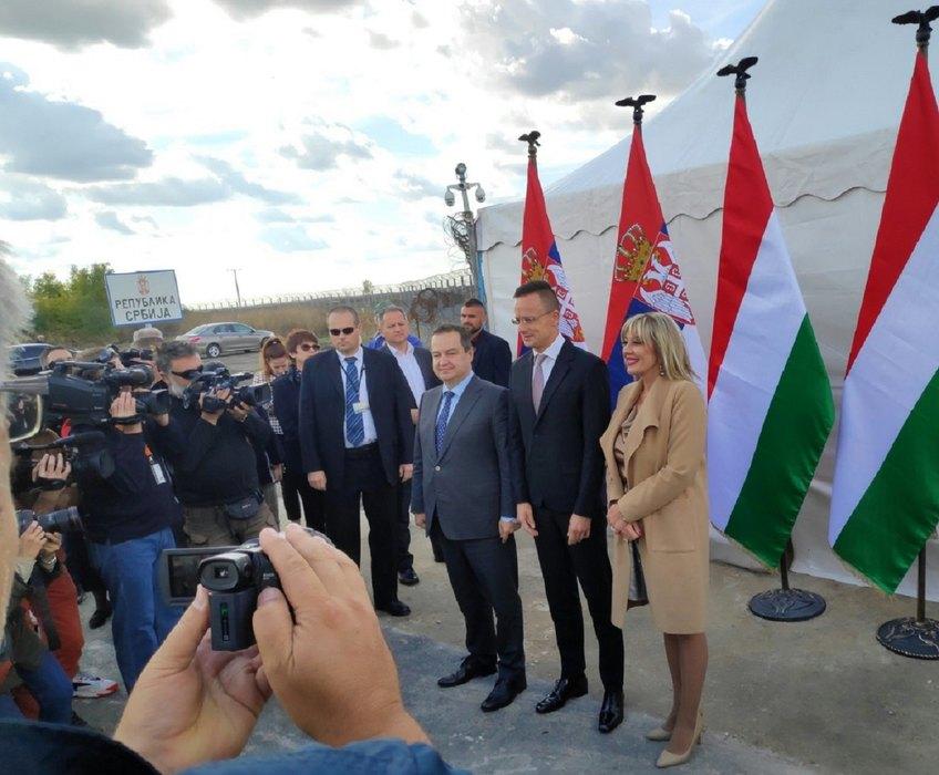 Dačić: Novi granični prelaz simbol dobrosusedskih odnosa