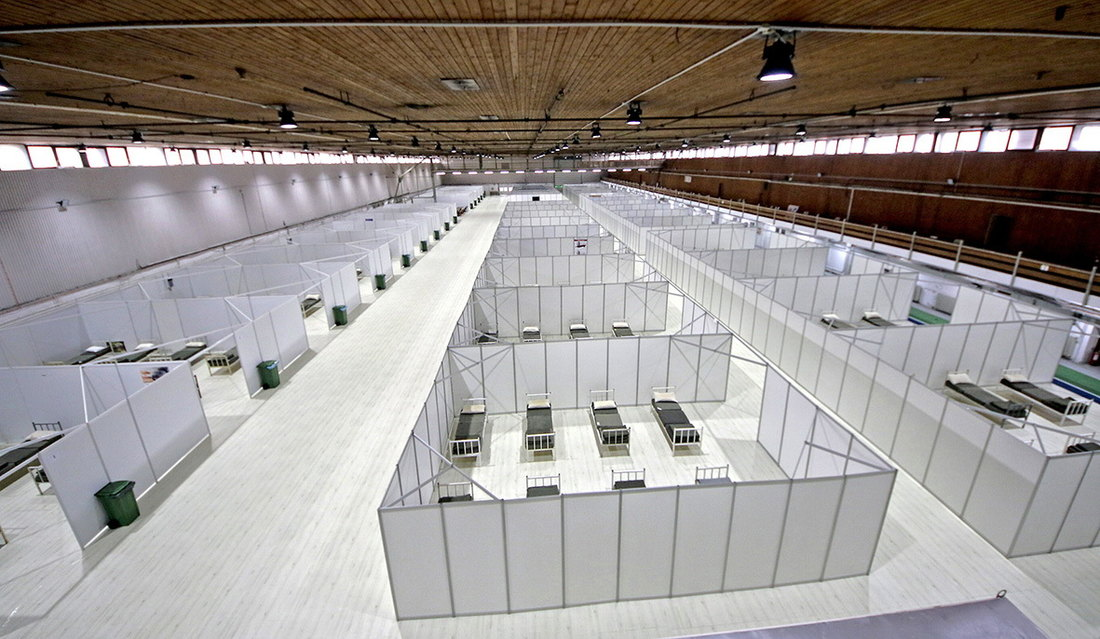 Danas se zatvara privremena bolnica na Novosadskom sajmu