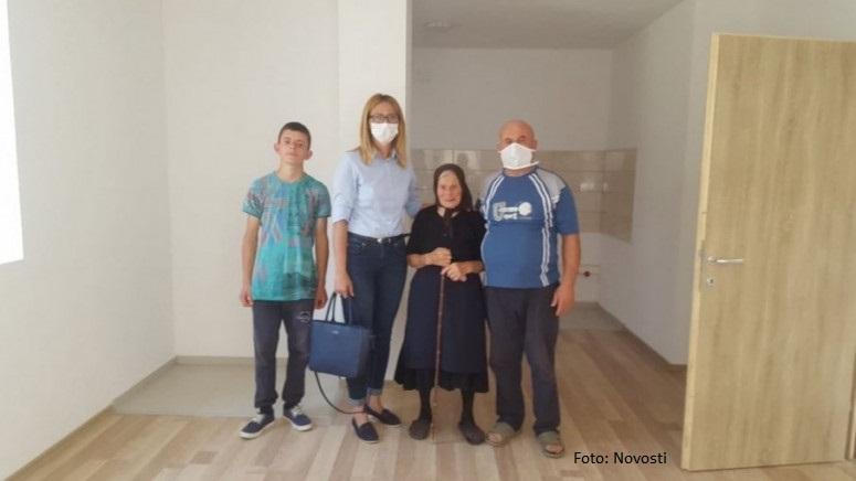Kosovska Kamenica: Novi dom za šestočlanu porodicu, samohrani otac podigao četvoro dece