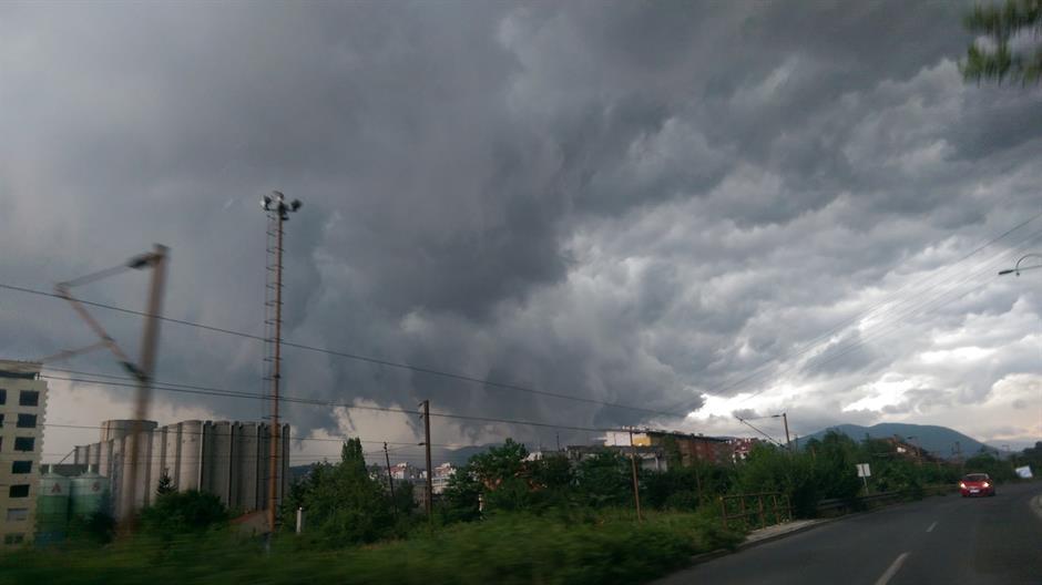 U sredu oblačno, ponegde kiša