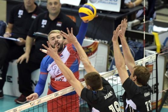 Odbojkaši protiv Ukrajine za polufinale EP