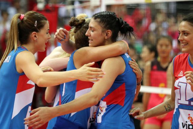 Odbojkašice Srbije osvojile turnir u Beleku
