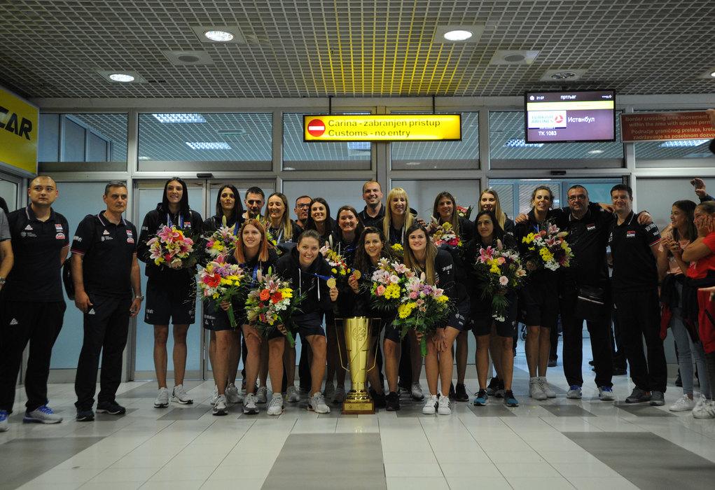 Evropske šampionke dočekane uz ovacije!