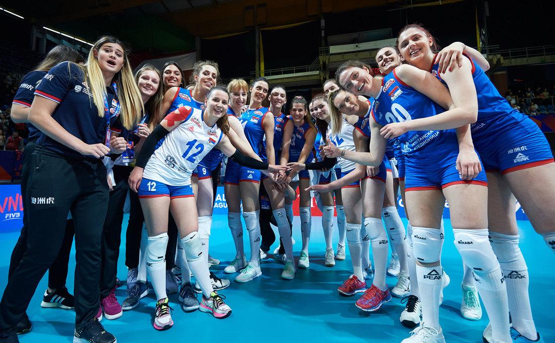 Odbojkašice Srbije protiv SAD u drugom kolu Svetskog kupa