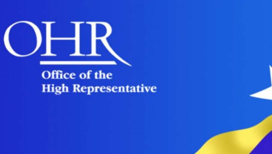 OHR: Blokada institucija korak u pogrešnom smeru