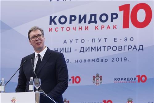 Vučić: Ispunjen san generacija - završen ceo Koridor 10, nećemo stati  (foto)