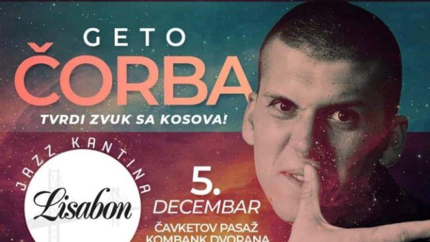 Koncert poznatog repera iz Kosovskog Pomoravlja 5. decembra u KomBank areni