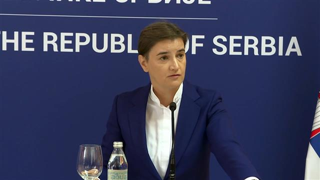 Brnabić: Kontinuirana podrška Slovenije evropskom putu Srbije