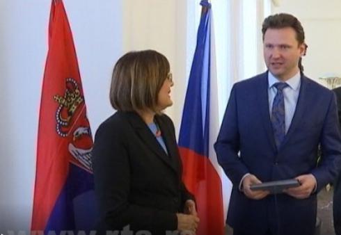 Podrška Češke evropskom putu Srbije