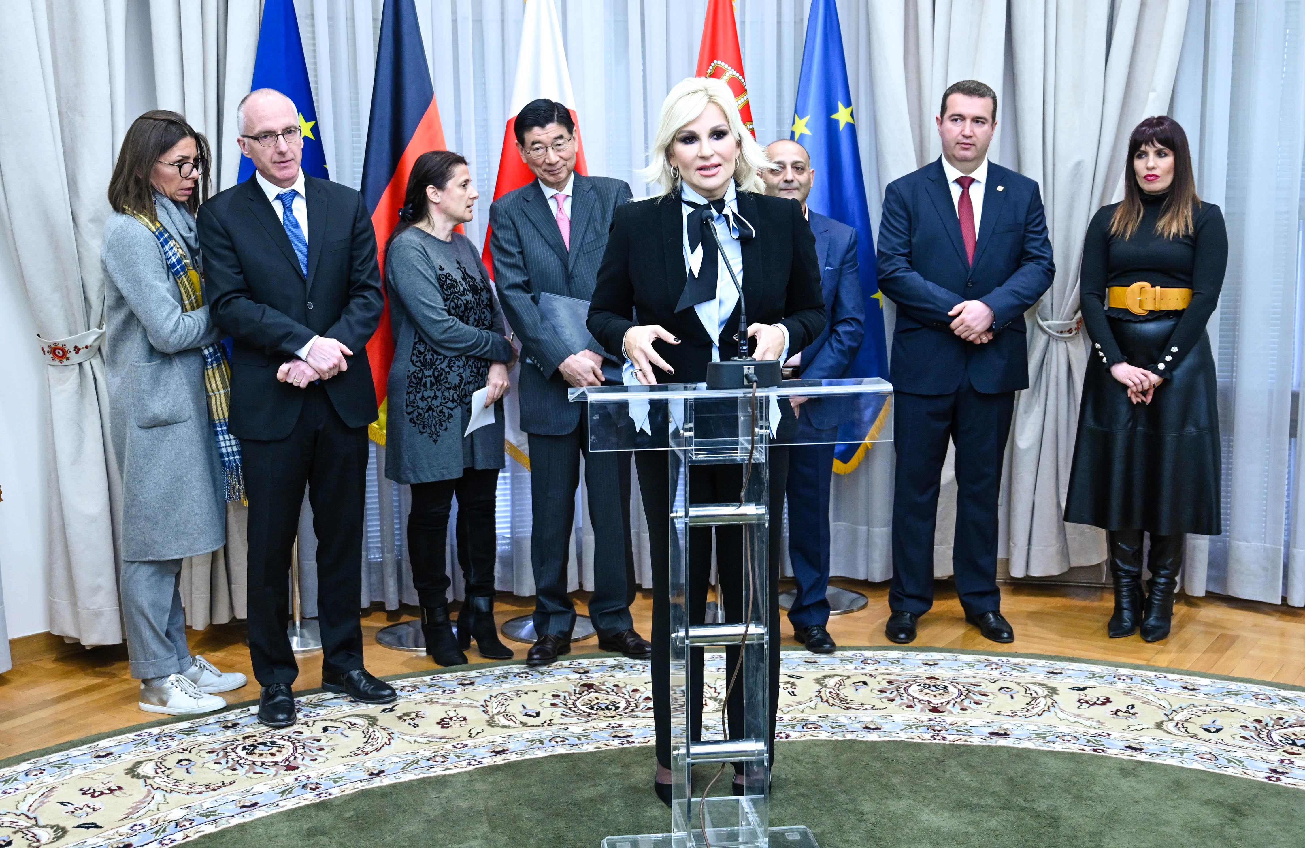 Mihajlovićeva: Nema podela, Romi i Romkinje su ravnopravni građani Srbije