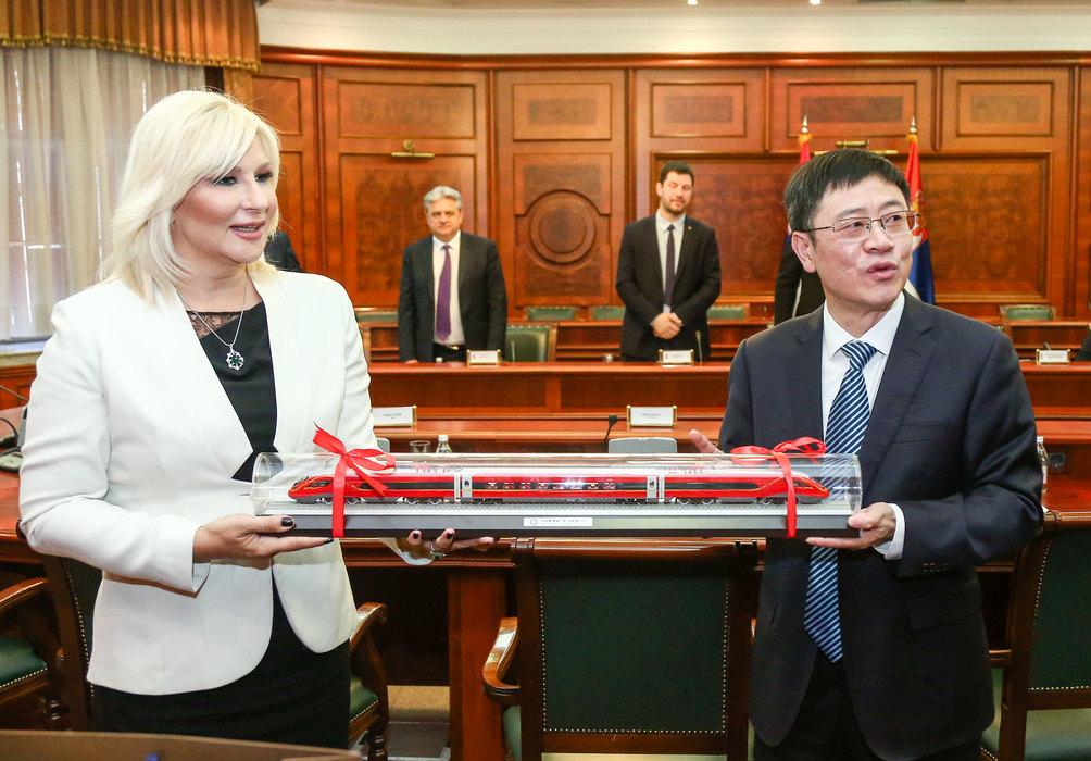 Mihajlović s Kinezima o saradnji u železničkom saobraćaju