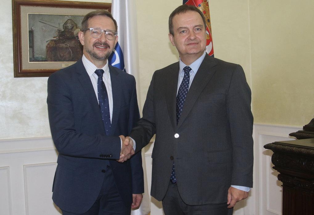 Dačić: Srbija ostaje aktivan i pouzdan partner OEBS-u