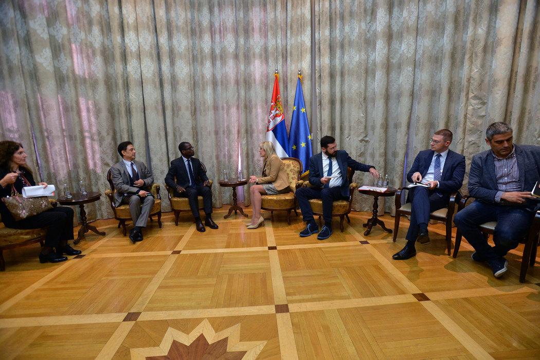 Joksimović sa predstavnicima UNOPS o nastavku saradnje