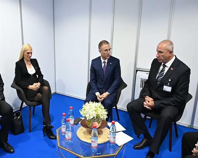 Stefanović zahvalio Belorusiji na podršci suverenitetu Srbije