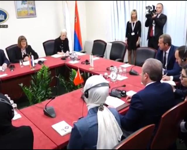Gojković: Odnosi Srbije i Turske na najvišem nivou