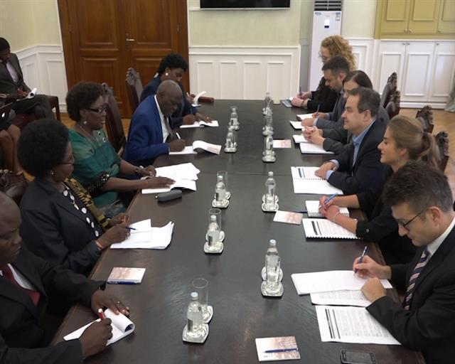 Dačić i Alitvala: Odnosi Srbije i Ugande na visokom nivou