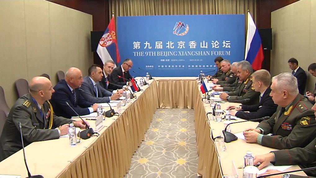 Vulin se sastao sa Šojguom u Pekingu