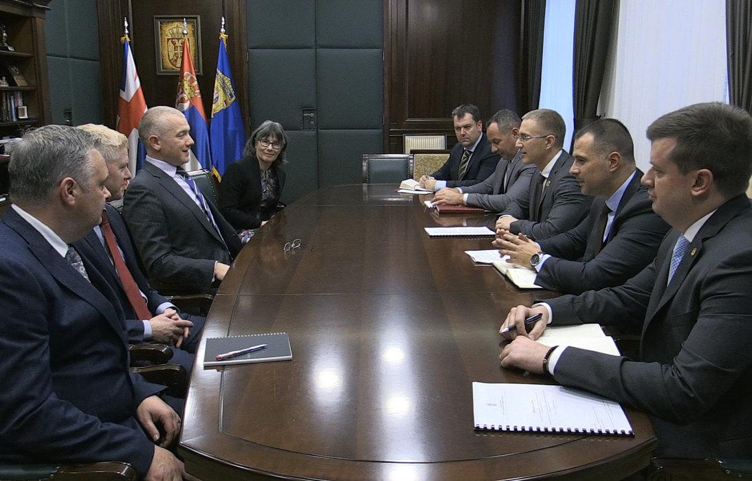 Stefanović i Pavlinić o saradnji u borbi protiv organizovanog kriminala