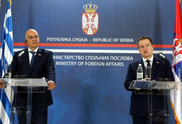 Dačić i Dendijas: Srbija i Grčka ulaze u novu eru savezništva