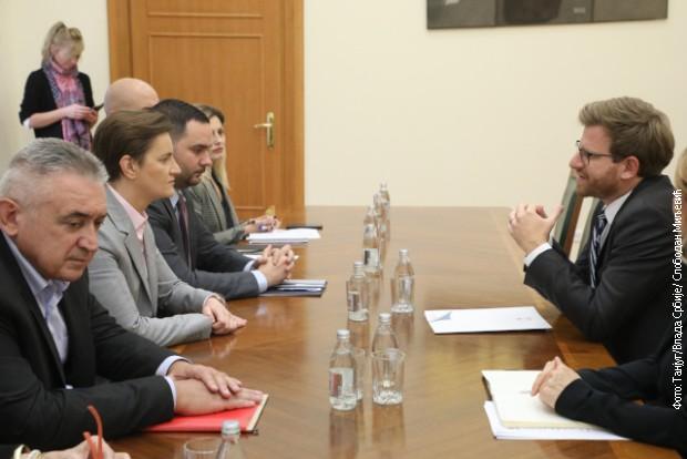 Brnabićeva sa direktorom Međunarodnog komiteta Crvenog krsta
