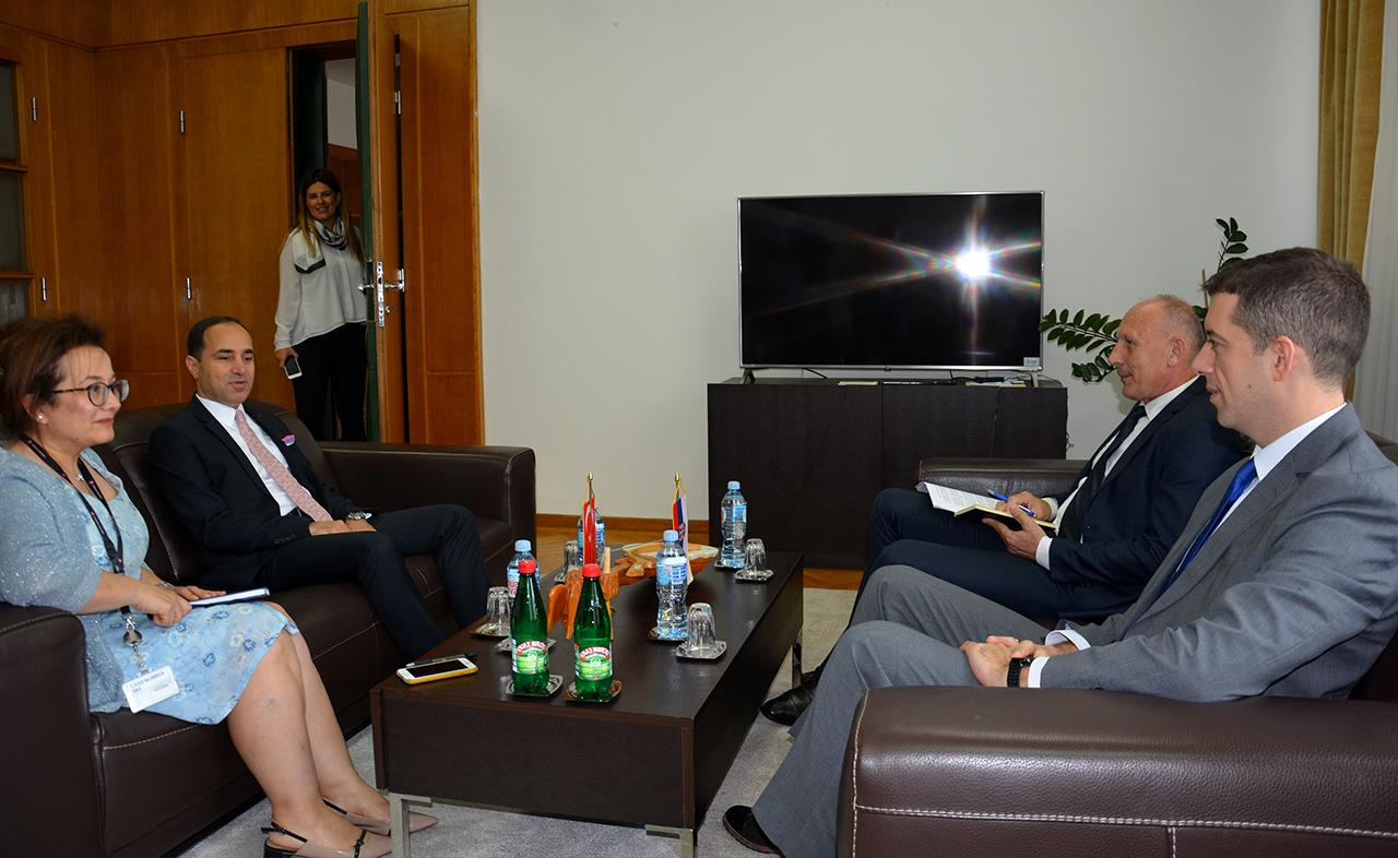 Đurić sa ambasadorom Turske o problemima snabdevanja namirnicama Srba na KiM