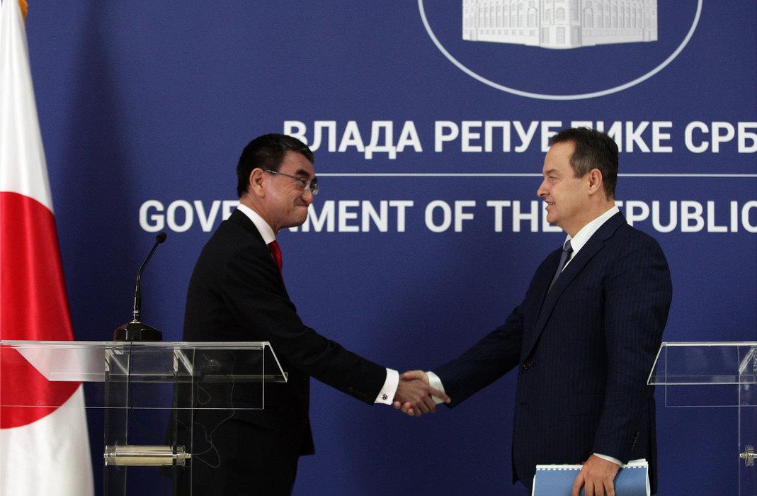 Kono: U Japanu se sve više interesuju za Srbiju