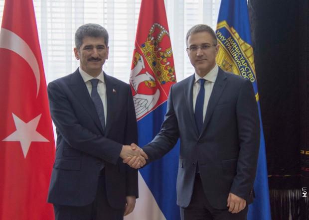 Saradnja srpske i turske policije u borbi protiv organizovanog kriminala