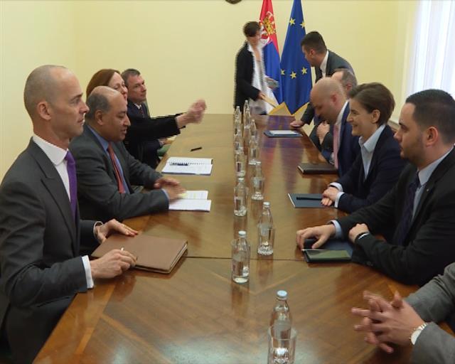 Branabićeva sa predsednikom EBRD-a